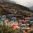 Namche Bazaar — Stock Video