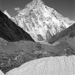 Stock Photo: K2 Chogori Peak
