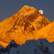 Stock Photo: Mount Everest Sunset