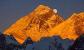 Mount Everest Sunset — Stock Photo