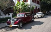 Retro Cars Laos — Stock Photo
