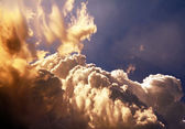 Sunny Clouds Background — Stock Photo