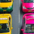 Bangkok Taxi — Stock Photo