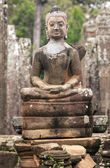 Ancient Statue of Buddha — Stockfoto