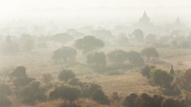 Bagan Morning Time Lapse — Stock Video