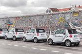 Mercedes Smart Cars — Stock Photo
