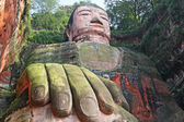 Leshan buda gigante — Foto de Stock