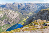 Trekking Norway — Stock Photo