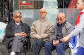 Pioneer Men Xian — Stock Photo