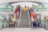 Escalator Airport Passenger Traffic — Stock Photo