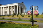 Square at the New Opera House in Astana — Stock Photo