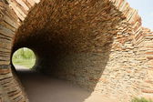 Decorative tunnel in the park — Stock Photo