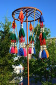 Street decoration in Kazakh style — Stock Photo