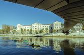 毕尔巴鄂河 — 图库照片