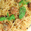 Pasta with meatballs — Foto de Stock