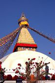 Swayambhunath buddhistic temple — Stock Photo