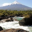 Stock Photo: Osorno volcano. Chile.