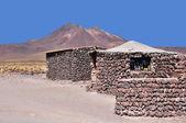Houses in Atacama desert. — Stock Photo