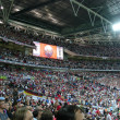 Tribunes of Wembley stadium. — Stock Photo