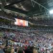 Tribunes of Wembley stadium. — Stock Photo #33726813