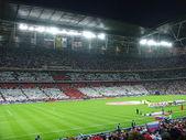 Beginning of football match. — Stock Photo