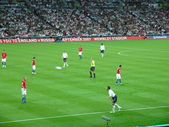 Football match. — Stock Photo