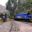 Train to Machu Picchu pueblo. — Stock Photo