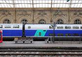 "Passenger speed train ""TGV"". — Stock Photo"