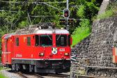 Tren de pasajeros. — Foto de Stock