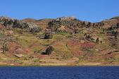 Shore of Titicaca lake. — Стоковое фото