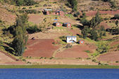 Shore of Titicaca lake. — Stock Photo