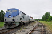 Passenger train. — Stock Photo