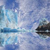 ледник перито морено. — Стоковое фото