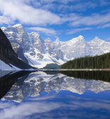 Moraine lake. — Stock Photo