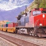 Freight train. — Stock Photo #39767597