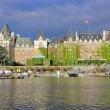 View of Inner Harbour of Victoria. — Stock Photo #40099625
