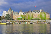 View of Inner Harbour of Victoria. — Stock Photo