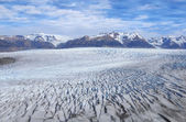 Grey glacier. — Stock Photo