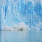 Crushing of Perito Moreno glacier. — Stockfoto