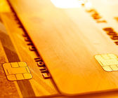 Credit cards background. — Stock Photo