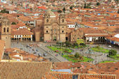 The central square In Cuzco. — Stock Photo