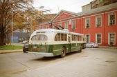 старый троллейбус. — Стоковое фото