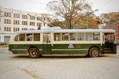 Old trolleybus. — Stockfoto