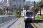 "Treni della ""metropolitana valparaiso"". — Foto Stock"