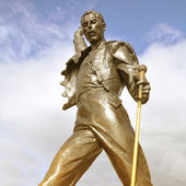 Freddie Mercury statue. — Stock Photo