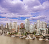 Vancouver downtown. — Stock Photo