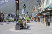 Street of Banff. — Stock Photo