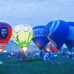 Hot Air Balloon festival. — Stock Photo