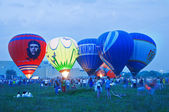 Hot Air Balloon festival. — Stock Photo