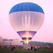 Preparation for Hot Air Balloon festival. — Stock Photo